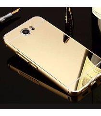 Aluminium Mirror pentru Huawei y5 II