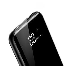 Baterie externa Baseus cu Incarcare Wireless + 2 porturi USB de 8000 mAh