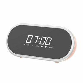 Boxa Portabila Wireless cu functie ceas desteptator si afisaj LED Baseus Encok E09 Black
