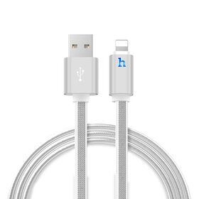 Cablu USB Hoco «UPL12» cu mufa Lightning Silver