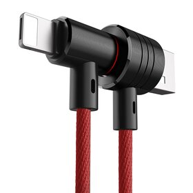 Cablu Baseus T - Type 2 in 1 ( Apple Lightning & Micro USB)