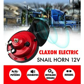 Claxon Electric Snail Horn