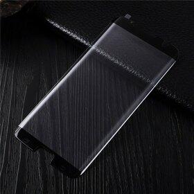Folie de sticla 4D decupata pentru S7 Edge