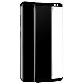 Folie de sticla cu margini negre PREMIUM pentru Galaxy S9