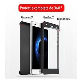 Folie de sticla pentru Husa 360 pentru Huawei P10