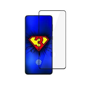 Folie de sticla premium 3MK HardGlass Max FP cu margini negre pentru Galaxy S21 Ultra