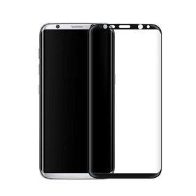 Folie de sticla PREMIUM pentru Galaxy S8 Plus Black