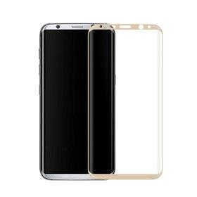 Folie de sticla PREMIUM pentru Galaxy S8 Plus Gold