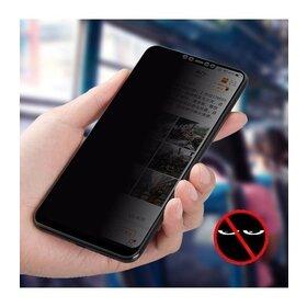 Folie Privacy - Anti spionaj - pentru Galaxy A20e NEGRU