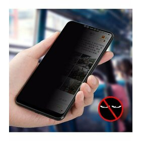 Folie Privacy - Anti spionaj - pentru Galaxy J6 (2018) NEGRU