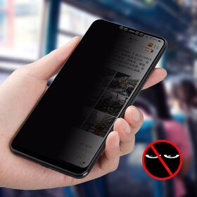 Folie Privacy - Anti spionaj - pentru Huawei P30 Lite NEGRU