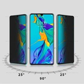 Folie Privacy - Anti spionaj - pentru Huawei P30 Pro NEGRU