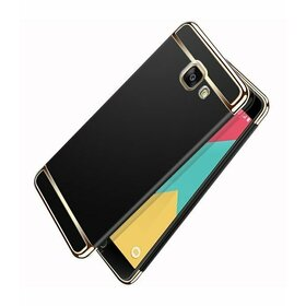Husa 3 in 1 Luxury pentru Galaxy A3 (2017) Black