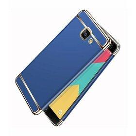 Husa 3 in 1 Luxury pentru Galaxy A3 (2017) Blue