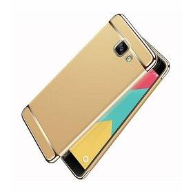 Husa 3 in 1 Luxury pentru Galaxy A3 (2017) Gold