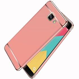 Husa 3 in 1 Luxury pentru Galaxy A5 (2017) Rose Gold