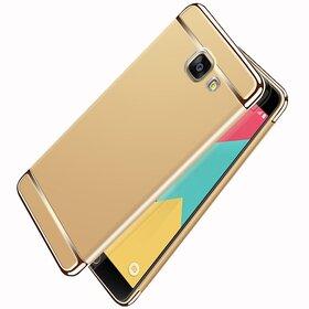 Husa 3 in 1 Luxury pentru Galaxy A7 (2017) Gold