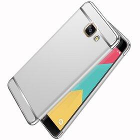 Husa 3 in 1 Luxury pentru Galaxy A7 (2017) Silver