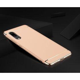 Husa 3 in 1 Luxury pentru Galaxy A7 (2018) Gold