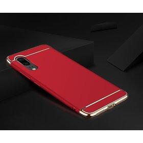 Husa 3 in 1 Luxury pentru Galaxy A7 (2018) Red