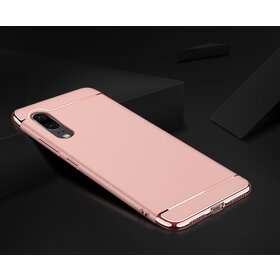 Husa 3 in 1 Luxury pentru Galaxy A7 (2018) Rose Gold