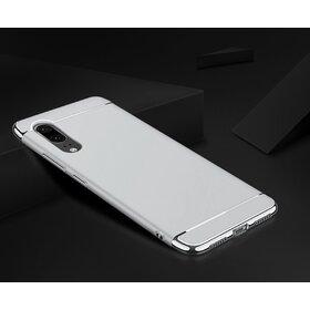 Husa 3 in 1 Luxury pentru Galaxy A7 (2018) Silver