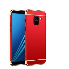 Husa 3 in 1 Luxury pentru Galaxy A8 (2018)