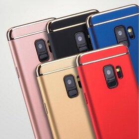 Husa 3 in 1 Luxury pentru Galaxy A8 Plus (2018)