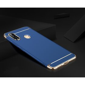 Husa 3 in 1 Luxury pentru Galaxy A9 (2018) Blue
