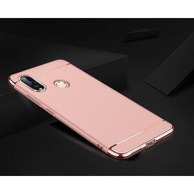 Husa 3 in 1 Luxury pentru Galaxy A9 (2018) Rose Gold