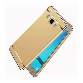 Husa 3 in 1 luxury pentru Galaxy J7 (2016) Gold