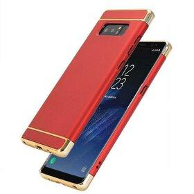 Husa 3 in 1 Luxury pentru Galaxy Note 8 Red