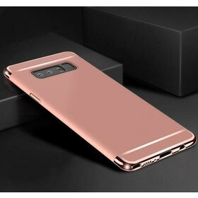 Husa 3 in 1 Luxury pentru Galaxy S10e Rose Gold