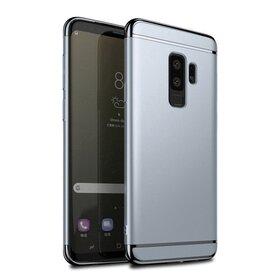 Husa 3 in 1 Luxury pentru Galaxy S9 Silver