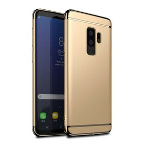 Husa 3 in 1 Luxury pentru Galaxy S9 Plus Gold