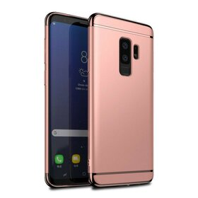 Husa 3 in 1 Luxury pentru Galaxy S9 Plus Rose Gold