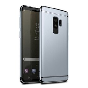 Husa 3 in 1 Luxury pentru Galaxy S9 Plus Silver