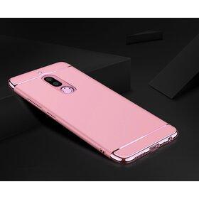 Husa 3 in 1 Luxury pentru Huawei Mate 10 Lite Rose Gold