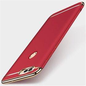 Husa 3 in 1 Luxury pentru Huawei P Smart (2018) Red