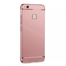 Husa 3 in 1 Luxury pentru Huawei P10 Lite Rose Gold
