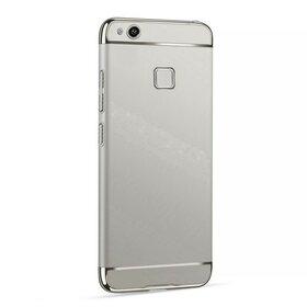 Husa 3 in 1 Luxury pentru Huawei P10 Lite Silver