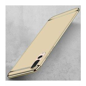 Husa 3 in 1 Luxury pentru Huawei P20  Gold