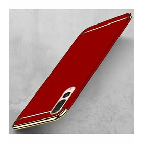 Husa 3 in 1 Luxury pentru Huawei P20  Red