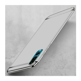 Husa 3 in 1 Luxury pentru Huawei P20  Silver