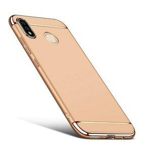 Husa 3 in 1 Luxury pentru Huawei P20 Lite (2018) Gold
