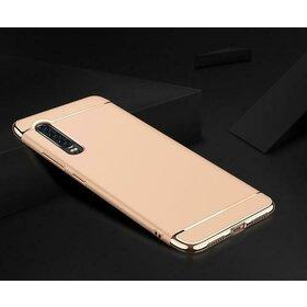 Husa 3 in 1 Luxury pentru Huawei P30 Gold