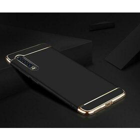 Husa 3 in 1 Luxury pentru Huawei P30 Pro Black