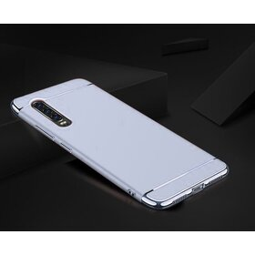 Husa 3 in 1 Luxury pentru Huawei P30 Pro Silver