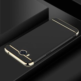 Husa 3 in 1 Luxury pentru Huawei Y6 (2017) Black