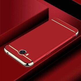 Husa 3 in 1 Luxury pentru Huawei Y6 (2017) Red